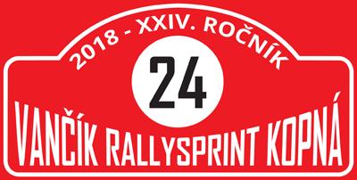 XXIV. Rallysprint Kopná 2018